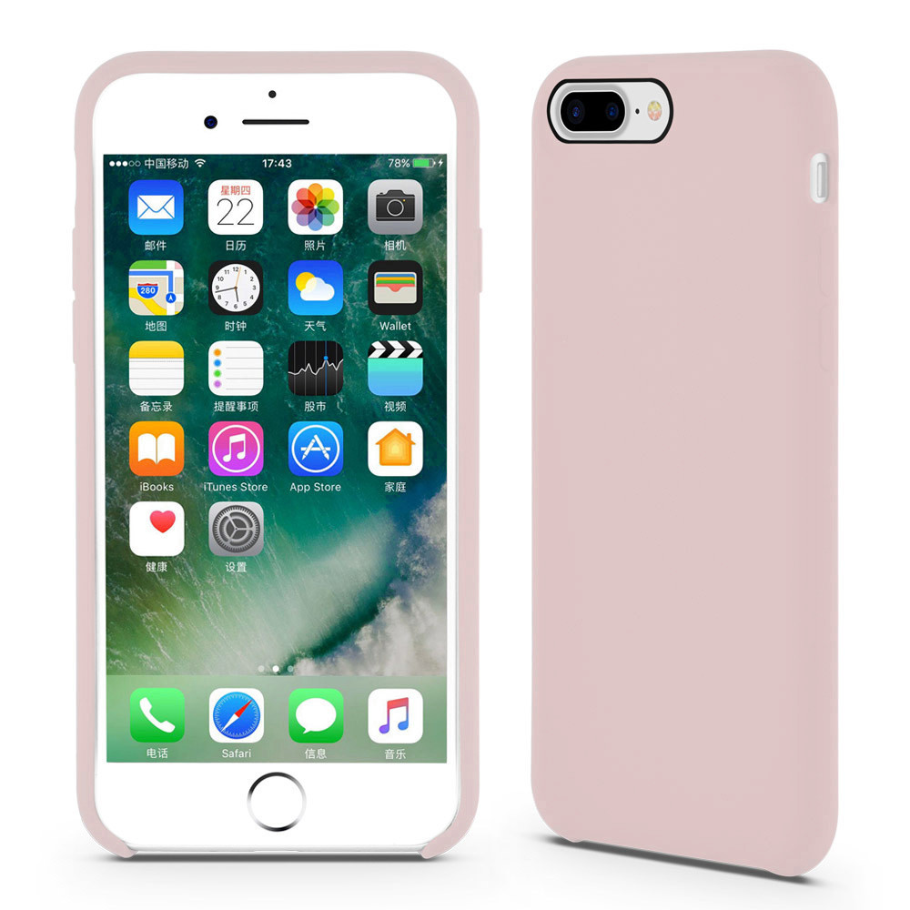 Liquid Silicone iPhone8 Cover