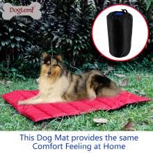Almofada Do Animal De Estimação Doglemi À Prova D 'Água Cobertor Mat Ao Ar Livre Portátil confortável