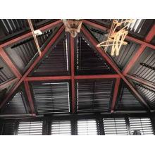Contraventanas de plantaciones de tilo sólido (SGD-S-5645)