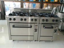 Commercial stainless steel restaurant equipment gas stove