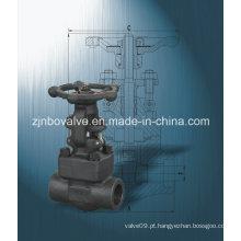 Suficiente estoque União termina válvulas forjadas (Z41H)
