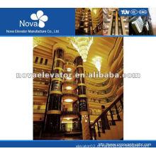 1.75m / s 800kg elevador de passeios turísticos