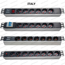 19 Inch Italy Type Universal Socket Network Cabinet and Rack PDU
