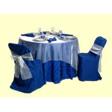 Satin Stripe Table Cloth