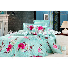 last design woven polyester filler patchwork pattern bed sheet for adult