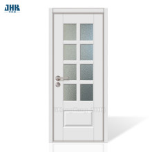 JHK 8 Lites Clear Glass Interior Door