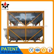 SDDOM A venda quente 40m3 concreto que mistura a planta empilhável horizontal Silo do cimento