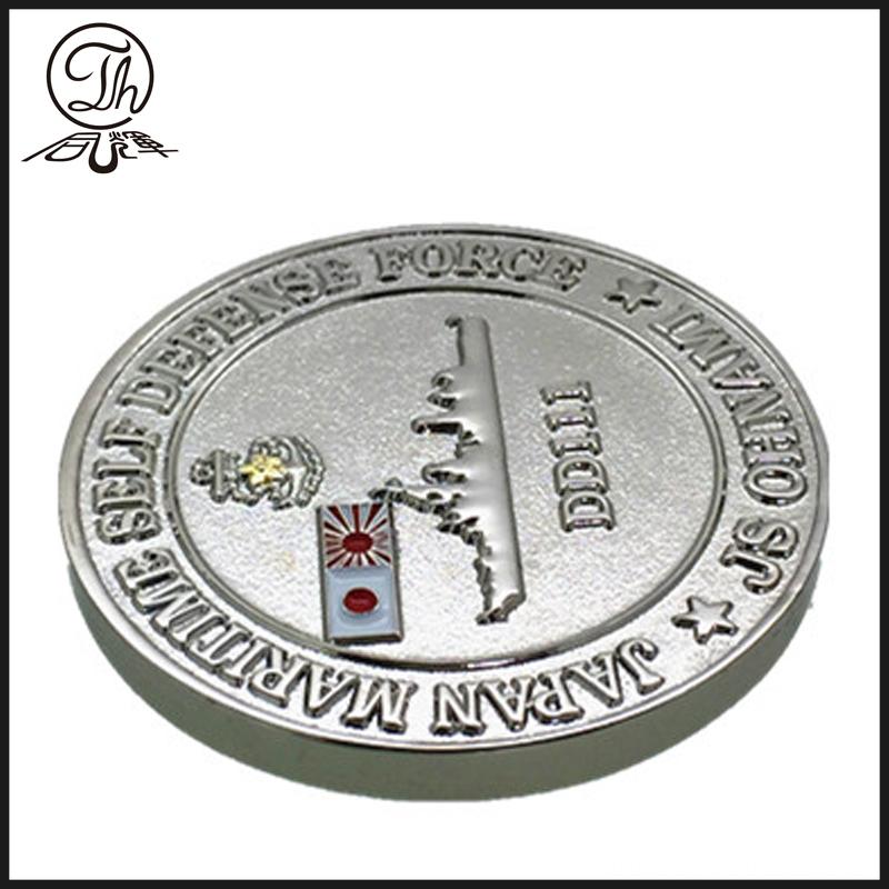 Navy 3D coins
