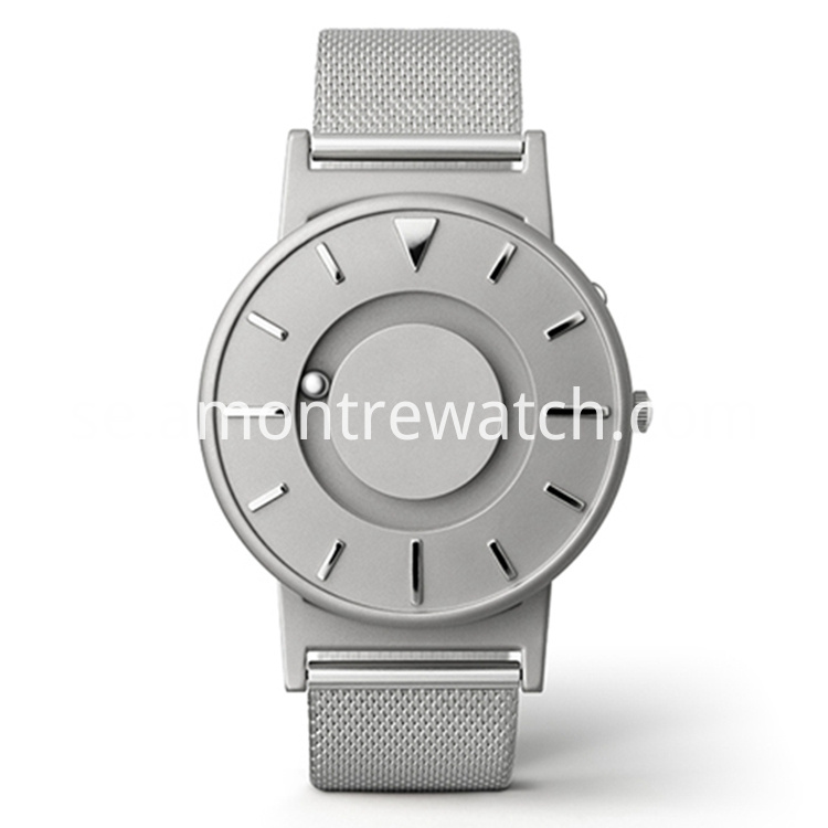 Eone silver watch
