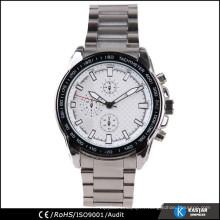 Bracelet en acier inoxydable montre montre bracelet pour les hommes d'affaires