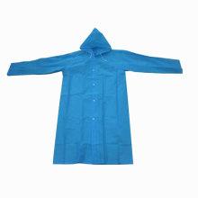 Blue Pvc Rain Coat