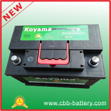 Superior Starter Lead Acid Maintenance Free Battery Car DIN75mf 12V75ah Car Battery Wholesale