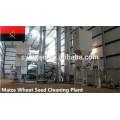usine de nettoyage de semences de blé