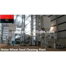 planta de limpeza de sementes de trigo