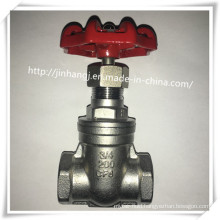Stainless Steel Thread End Gate Valve with Bsp/NPT 200wog