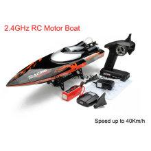 40km / H 65cm Comprimento R / C impermeável Brushless Motor Boat