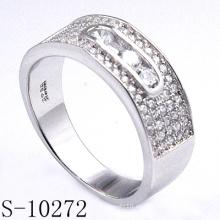 Anillos de joyería de plata para mujer Accesorio de joyería de moda (S-10272)