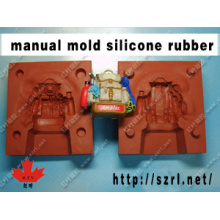 Silicon rubber for manual mold