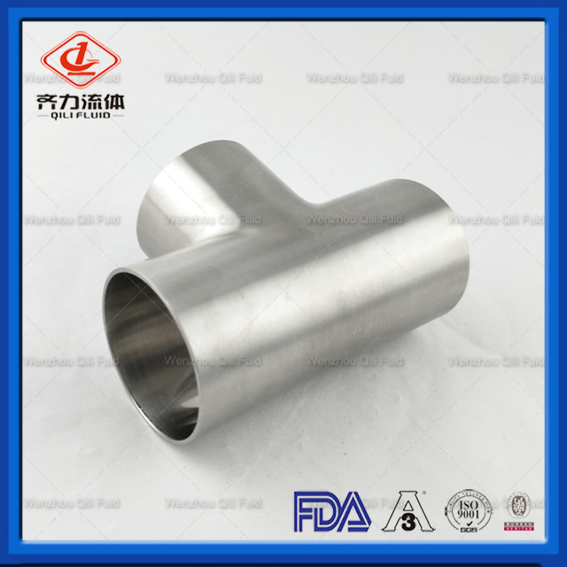 Sanitary pipe fittings Tee 15