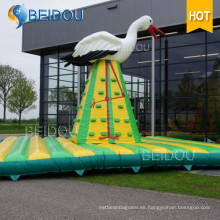Popular escalera inflable gigante Montaña Juegos Deportivos Pared de escalada inflable