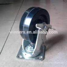 8 inch high temperature Phenolic swivel caster
