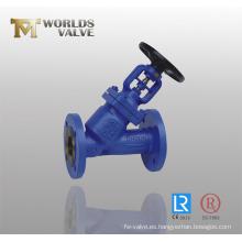 Válvula de globo angular (WDS)