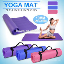 10mm Anti Slip EVA Foam Floor Play Excercise Yoga Mat Tapete de ginástica Treinador Pad 180cm