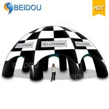 Tenda de exterior para dome exterior Tenda de publicidade para aranha inflável