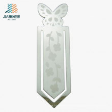 Best Sell Brass Custom Flower Logo Promotional Bookmark for Janpan