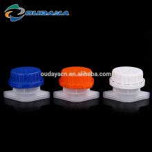 Kunststoffdeckel mit einem Auslaufdurchmesser von 33 mm für den Beutel