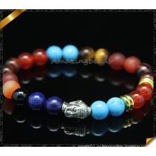 Браслеты ODM Ювелирные изделия браслета Будды Handmade с шариком Gemstone (CB0111)