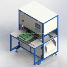 Máquina empacadora de cajas de plástico