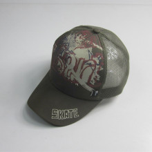5 panel baskı Mesh Cap