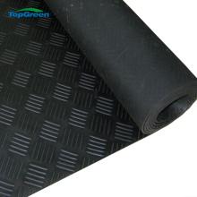 anti slip 3mm 6mm checker rubber sheet