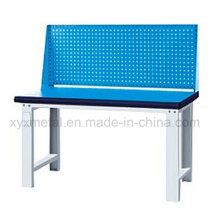 Workshop Industrial Metal Workbench with Tools Wall Board