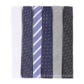 Cravate fine en soie tissée à motif de cravate