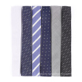 Skinny Silk Woven Neck Tie Anchor Square End Necktie