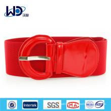 2015 Nouvelle ceinture rouge femme PU