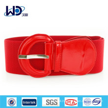 2015 New red women PU belt