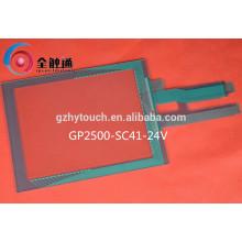 Panneau écran tactile matriciel résistant 5 pouces personnalisé avec verre ITO