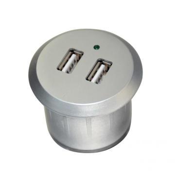 Tira de cargador USB de doble puerto