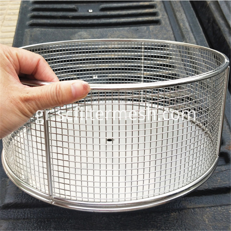 welded mesh production