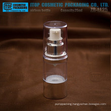 ZB-LE25 25ml classical and popular round shape classical cylinder 25ml airless bottle