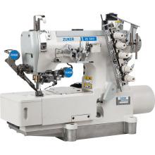Zuker Pegasus ordinateur entraînement Direct plat Interlock Machine à coudre avec Auto-tondeuse (ZK 500-01DA-UT)