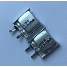 3.7v 120mAh Lipo Battery For Bluetooth Earphones (LP1X1T6)