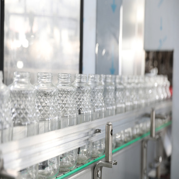 Automatic Glass Bottle Beverage Filling Bottling Machinery
