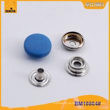 Ronda de plástico de nylon Cap Shank Snap botón para el escudo BM10804
