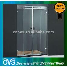 современные встроенные стеклянные раздвижные душевая панель душевая дверь к-8