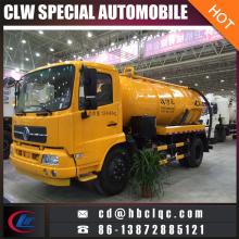 Dongfeng Tianland 8ton 10ton Vacuum Tank Sewer Suction Truck