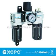 Serie filtro regulador lubricador FRL de aire preparación unidades aire filtro combinación del aire fuente tratamiento XACT